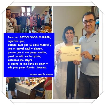 Celebración y entrega premio al gandor