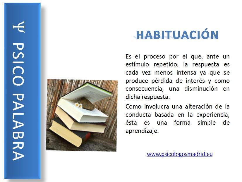 Habituación