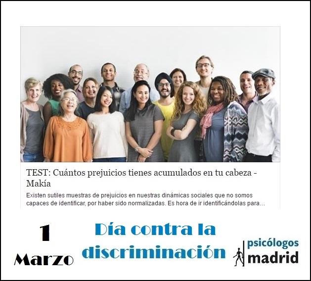 Día contra la discriminación