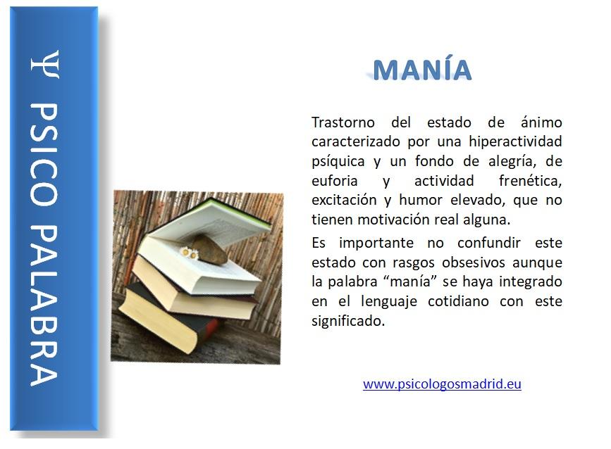 Manía