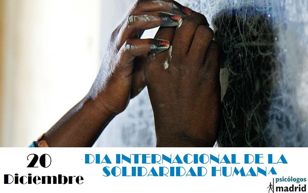 Día Internacional de la Solidaridad humana1